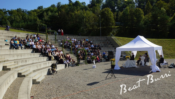 Hochzeit im Amphitheater-Hüntwangen